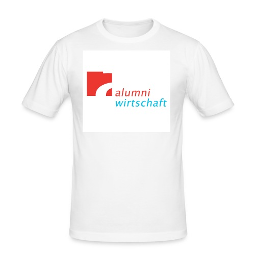 Slim Boy (Alumni Wirtschaft Alanus) - Männer Slim Fit T-Shirt