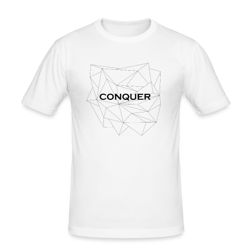 CONQUER - Männer Slim Fit T-Shirt