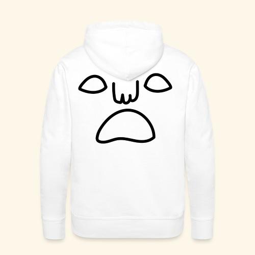 noface hoodie - Premiumluvtröja herr