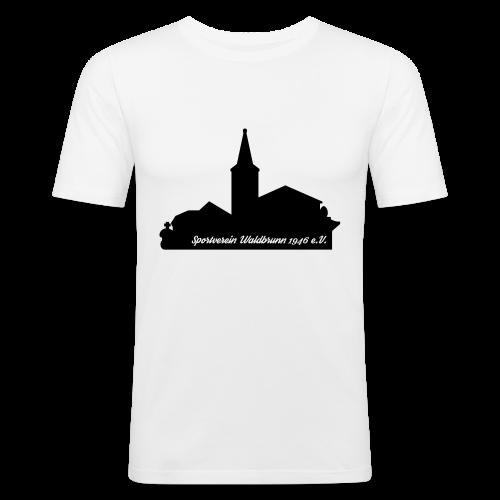 Rundhals T-Shirt Skyline SLIMFIT - Männer Slim Fit T-Shirt