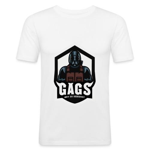 GAGS Men's regular shirt design - Männer Slim Fit T-Shirt