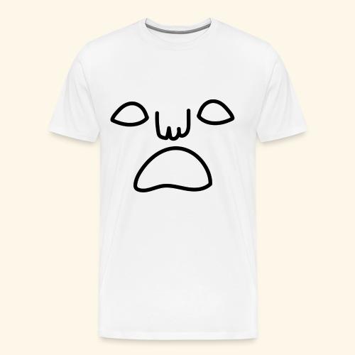 noface tee men - Premium-T-shirt herr