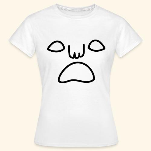 noface tee women - T-shirt dam