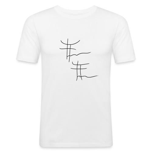 T-shirt Sport Sign - White - T-shirt près du corps Homme