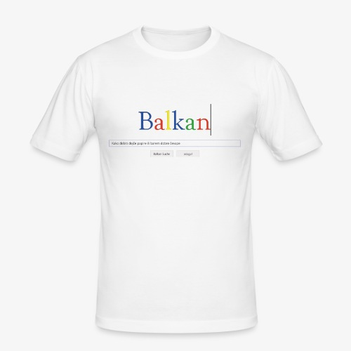 Balkan Search - Männer Slim Fit T-Shirt