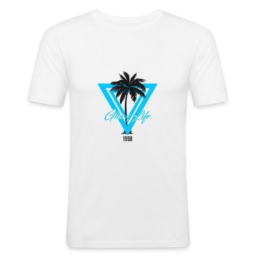 Triangle Palmiers 1998 - T-shirt près du corps Homme