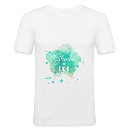Glaube an Dich! (by hatgirl) T-Shirts - Männer Slim Fit T-Shirt