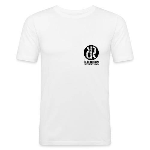 RealRoads Motorcycles Slim Fit T shirt - Men's Slim Fit T-Shirt