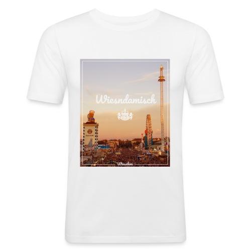 Wiesndamisch T-Shirt Tailliert - Männer Slim Fit T-Shirt