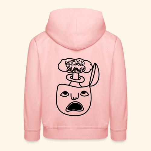 mindblown kid-hoodie - Premium-Luvtröja barn