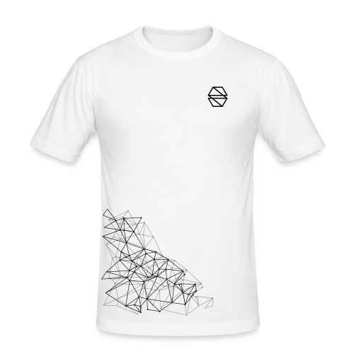 Geometric Print Tee - Men's Slim Fit T-Shirt