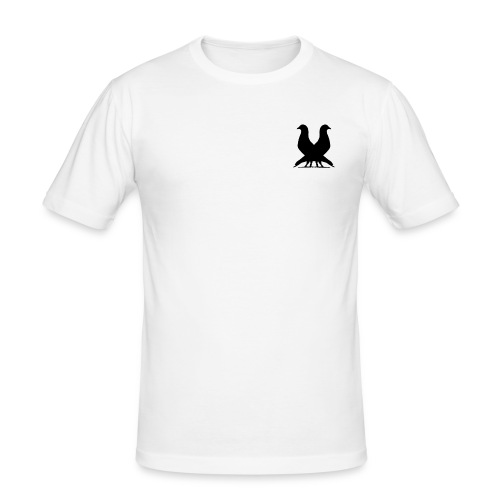 2PIGEONS Basic Tee - Men's Slim Fit T-Shirt
