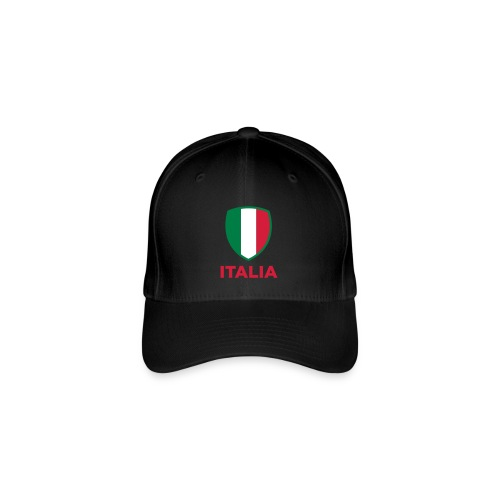 casquette drapeau italien italian style - Casquette Flexfit