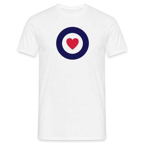 MOD HEART TARGET TEE - Men's T-Shirt
