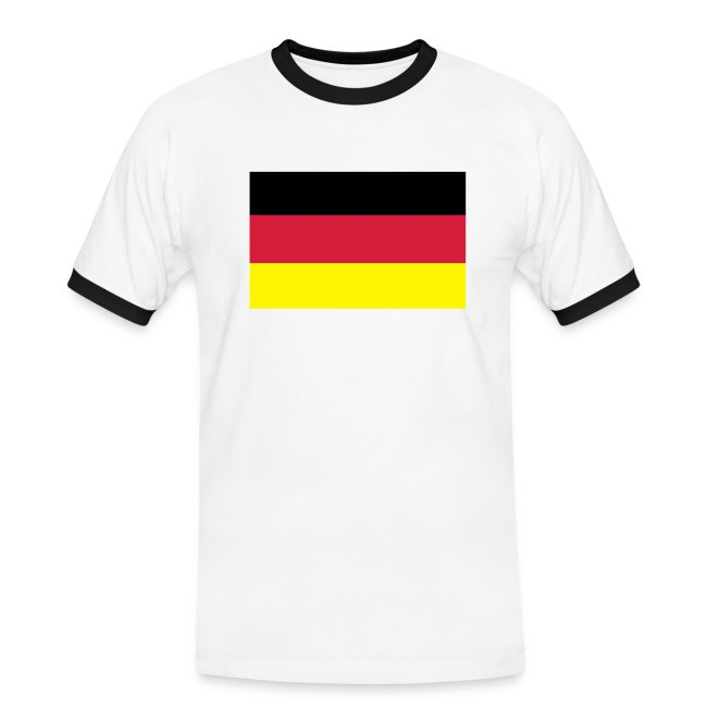GERMANY FLAG CONTRAST TEE