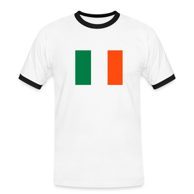 IRELAND FLAG CONTRAST TEE