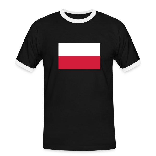 POLAND FLAG CONTRAST TEE