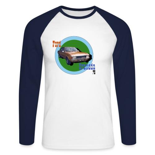 Ford Granada 76 - Männer Baseballshirt langarm