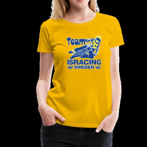 T-shirt dam Premium, Team Isracing Sweden - Premium-T-shirt dam