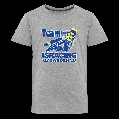 T-shirt Tonåring Premium, Team Isracing Sweden - Premium-T-shirt tonåring