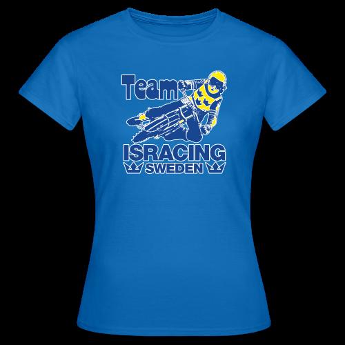 T-shirt dam, Team Isracing Sweden - T-shirt dam