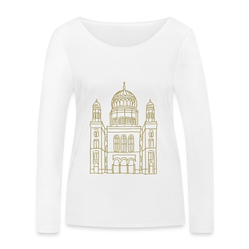 Neue Synagoge Berlin - Frauen Bio-Langarmshirt von Stanley & Stella