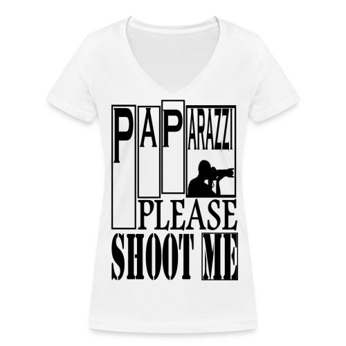 T-shirt Femme Paparazzi - T-shirt bio col V Stanley & Stella Femme