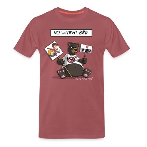 Shirt Herren - No-Wham!-Bär - Männer Premium T-Shirt