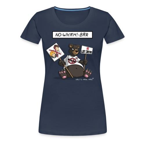Shirt Damen - No-Wham!-Bär - Frauen Premium T-Shirt