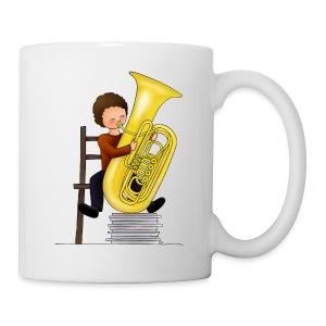 Child playing Tuba - Mok