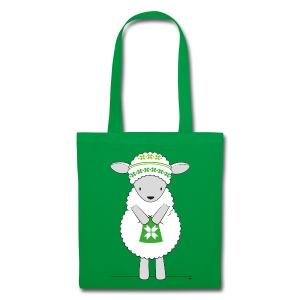 Sheep knitting - Tas van stof
