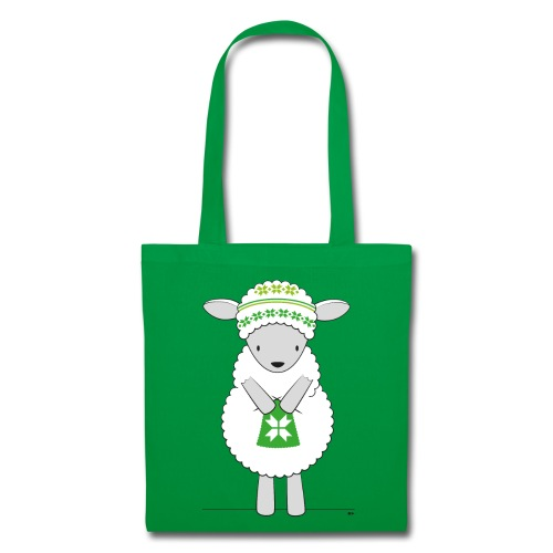 Sheep knitting - Tas van stof