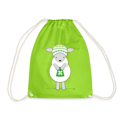 Sheep knitting - Gymtas