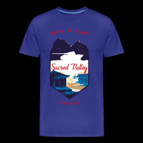 World of Tanks Men T-Shirt - Sacred Valley - Men's Premium T-Shirt