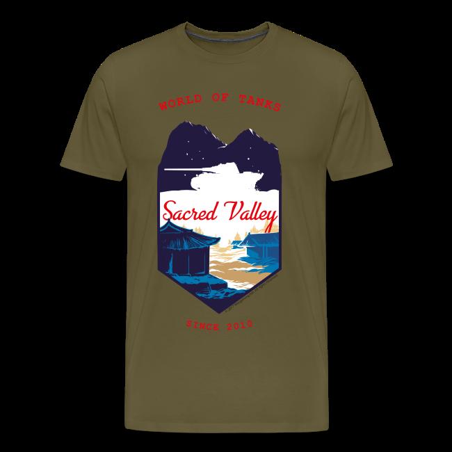 World of Tanks Men T-Shirt - Sacred Valley