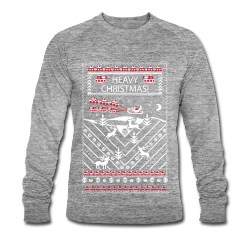 World of Tanks Ugly XMas Longlseeve - Men's Organic Sweatshirt by Stanley & Stella