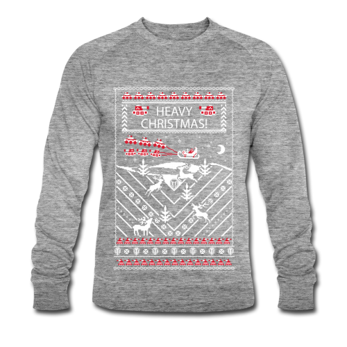 World of Tanks Ugly XMas Longlseeve - Men's Organic Sweatshirt by Stanley & Stella