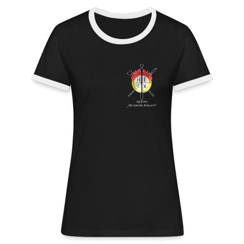 10 Jahre HIKG Sportshirt Female - Frauen Kontrast-T-Shirt