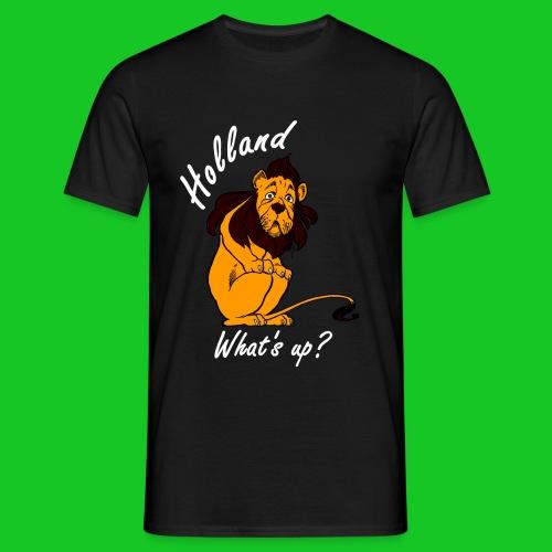 Nederlandse Leeuw laf heren t-shirt - Mannen T-shirt