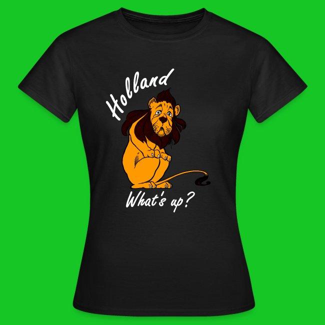 Nederlandse Leeuw laf dames t-shirt