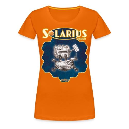Solarius Space Station - Frauen Premium T-Shirt