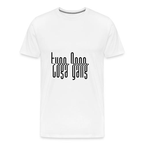 tuga gang v - T-shirt Premium Homme