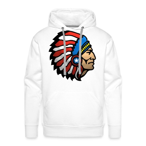 AMERICAN INDIAN - Men's Premium Hoodie