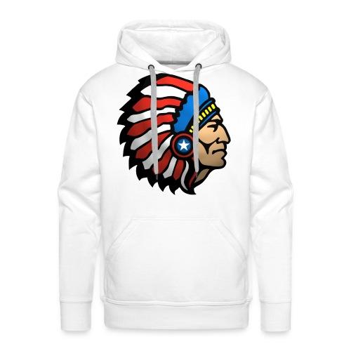 AMERICAN INDIAN - Men's Premium Hoodie