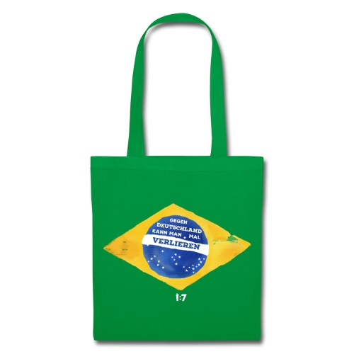 Stoffbeutel - wm2018,wm2014,wm,weltmeister,fussballweltmeisterschaft,fussballweltmeister,fussballer,fussball-fan,fussball wm,fussball,einszusieben,deutschland,Mannschaft,Brasilien,1zu7