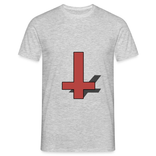 Reversed Red Cross - Men's T-Shirt