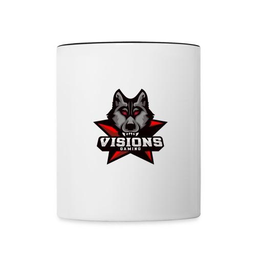 Visions Gaming Tasse - Tasse zweifarbig