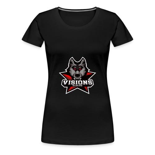 Visions Gaming Frauen T-Shirt - Frauen Premium T-Shirt