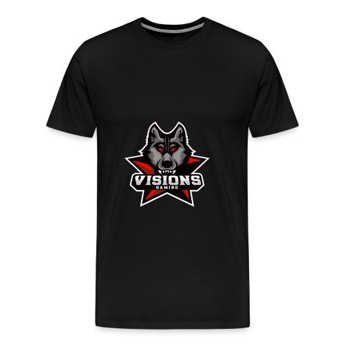 Visions Gaming Männer T- Shirt - Männer Premium T-Shirt