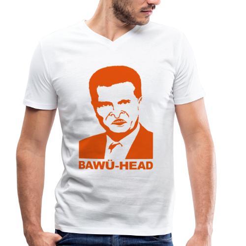 bawü-head - Männer Bio-T-Shirt mit V-Ausschnitt von Stanley & Stella